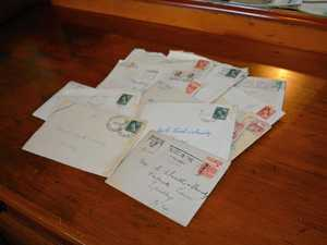 Laidley family sought to collect lost 1950s letters