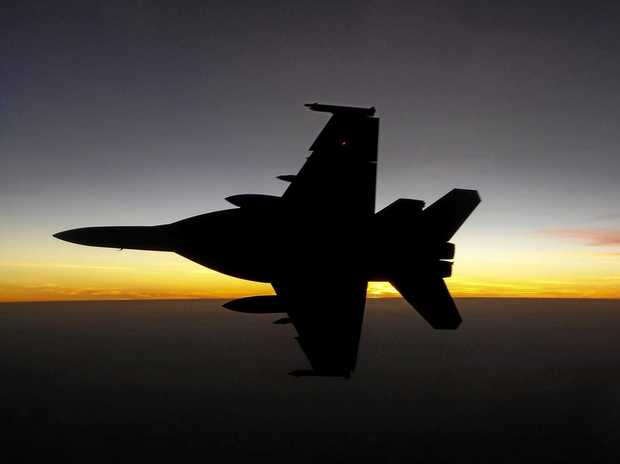 FLYING HIGH: A F/A-18F Super Hornet will fly over Gatton this week.