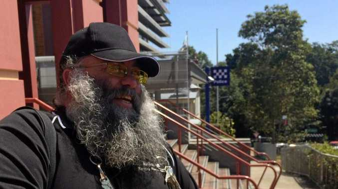 BIG Rob outside Lismore courthouse during a previous appearance.
