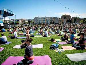 Yoga and health enthusiasts in their element at Wanderlust