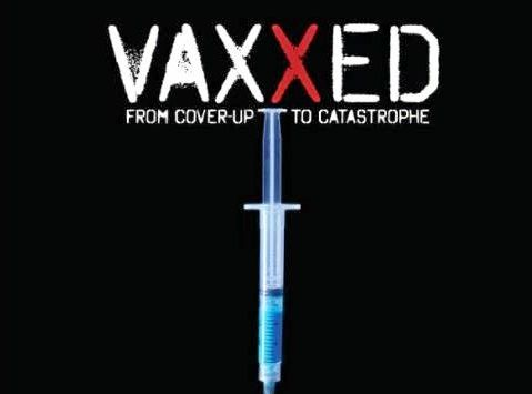 CONTROVERSIAL: A post er for Vaxxed.