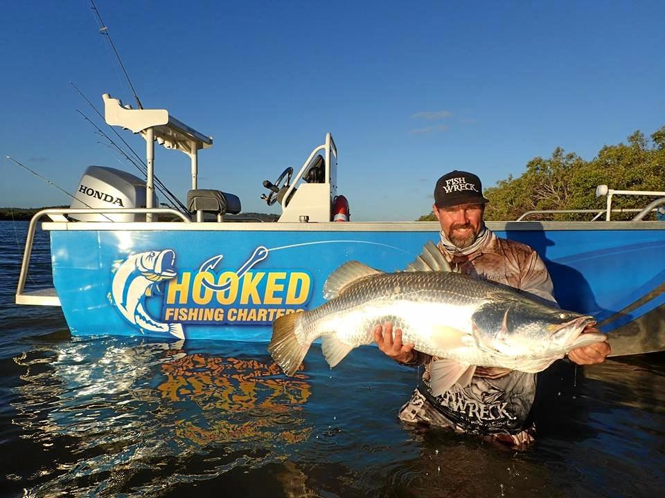 Photos shared to the Fishing Central Queensland Facebook page by Liam Pascoe show a ripper start to the 2017 Barra season.