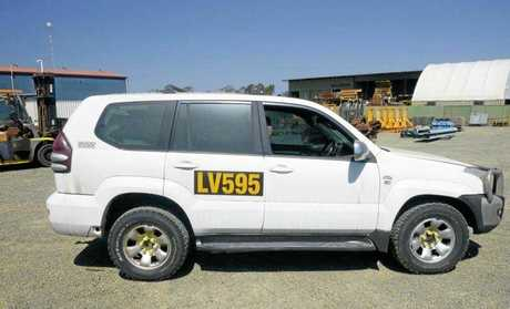 A Toyota 120 series Prado 4x4 wagon will be up for grabs.