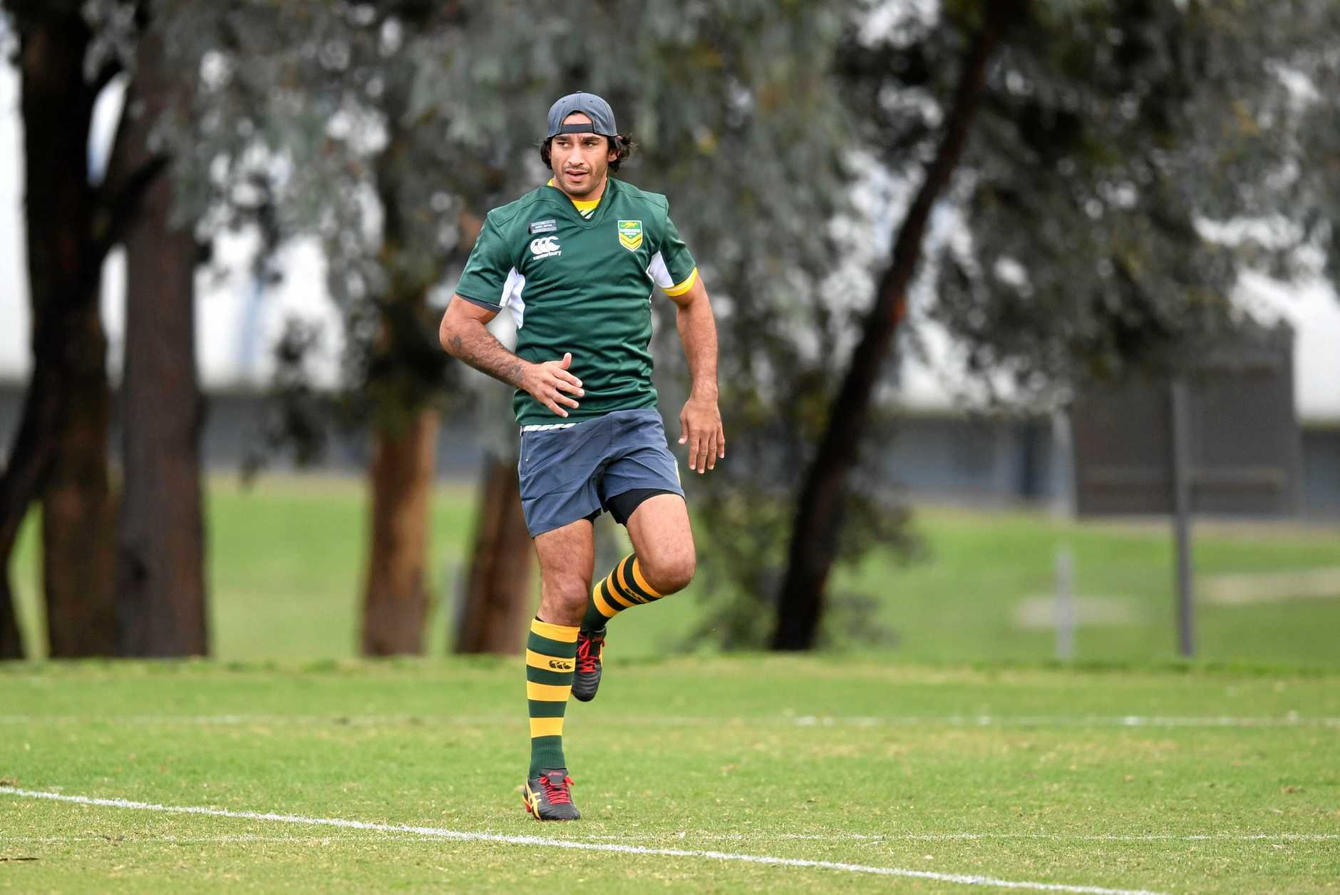 Jonathan Thurston is sidelined with injury but will still make an impact for the Kangaroos.