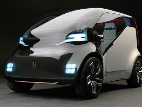 The Honda NeuV concept car unveiled at the 2017 Tokyo motor show.
