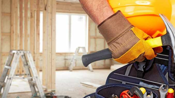 A shortage of tradesmen in the building industry is becoming an issue.