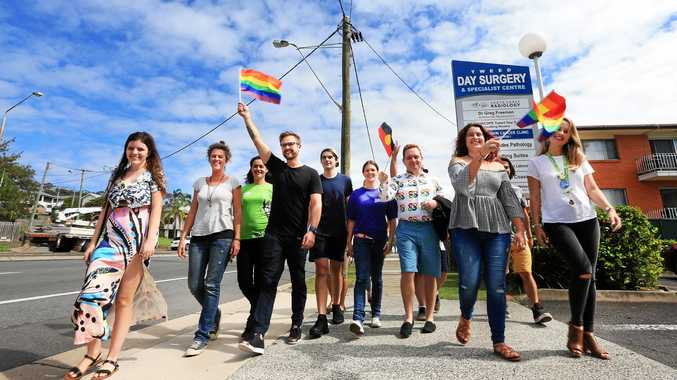 JOIN IN: A group of local youth are planning a diversity walk in Tweed Heads on Saturday.