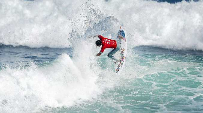 IN ACTION: Julian Wilson at a prior event at Rio de Janeiro, Brazil.