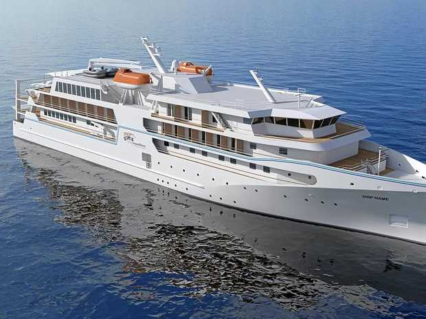 The proposal for cruise ships to berth at Yamba hopes to attract smaller vessels.