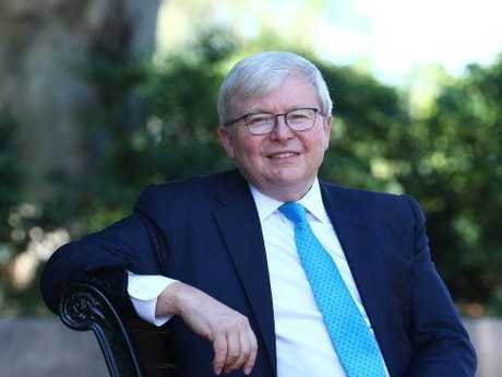 Former Prime Minister Kevin Rudd spent big in 2008 to stimulate growth.