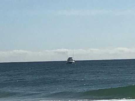 The Fisheries boat off Miami. Picture: Lea Emery.