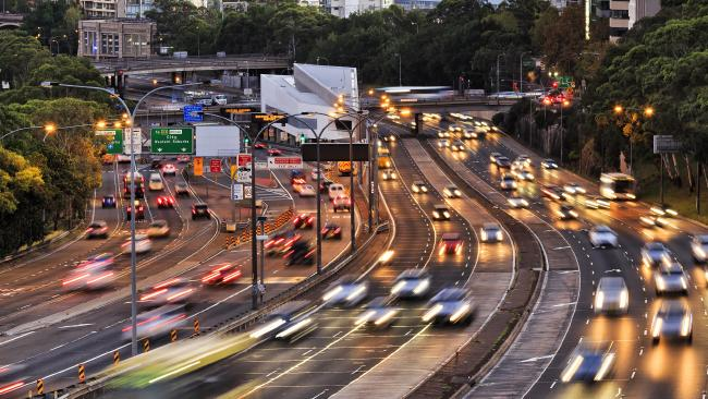 NSW is experiencing a massive surge in infrastructure spending.
