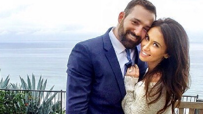 Jenn Sterger is engaged to New York Mets baseballer Cody Decker.