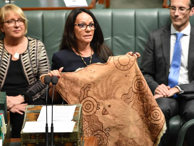 Linda Burney was the first indigenous woman elected to Australia's House of Representatives. Picture: AFP