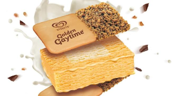 The new Golden Gaytime Sanga.