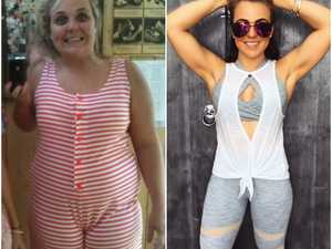Cruel text from boy motivates Toowoomba woman to shed 35kg