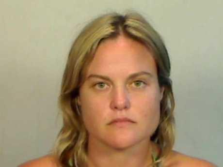 MUG SHOT: Yamba resident Prue Elizabeth Harvey was charged with felony battery in the US.