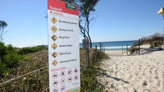 Tyagarah Beach is the Byron Shire's only legal nude beach.