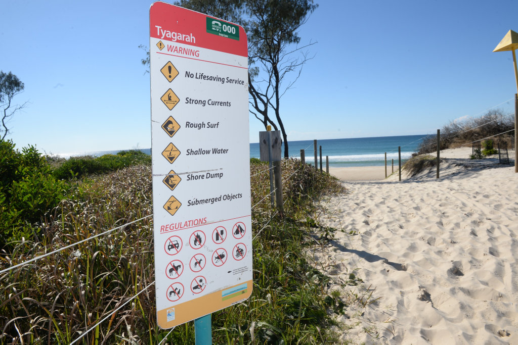 A decision will be made about the clothes optional status of this North Coast beach.