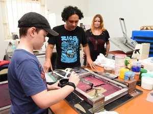 Gatakers Artspace Screen Printing Workshop