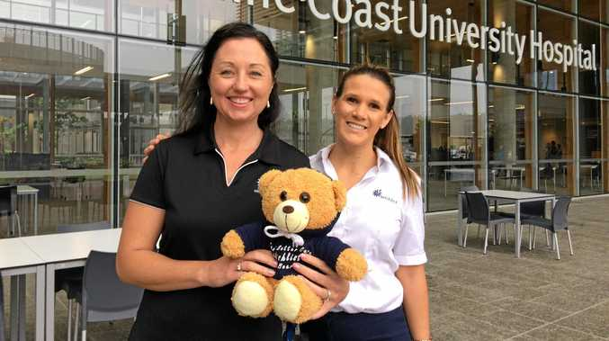 GATHERING OF BEARS: Lisa Wilson and Ashlea Heisner wouldn't miss the Wishlist Teddy Bears' Picnic.