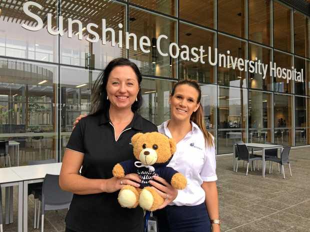 GATHERING OF BEARS: Lisa Wilson and Ashlea Heisner wouldn't miss the Wishlist Teddy Bears' Picnic.