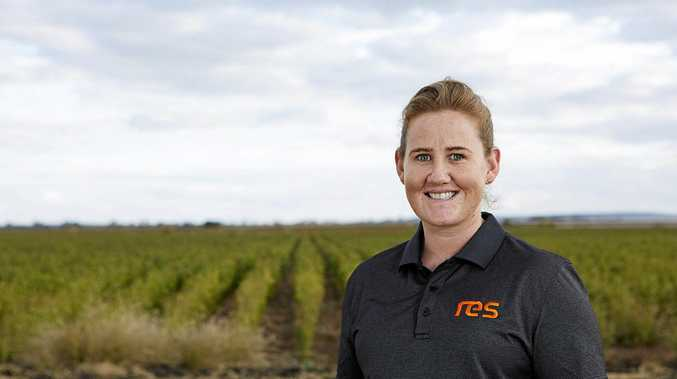 JOBS AHEAD: Rebecca Meek Project Manager for RES for Emerald Solar Park, which will begin construction immediately.