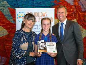 12 yr old student recognised for her humanity