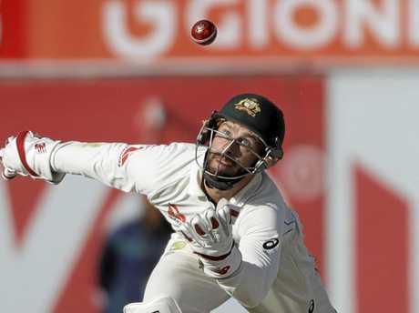 Australia's wicketkeeper Matthew Wade