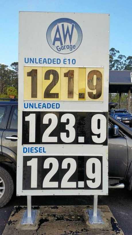 Aussie World Garage current prices.