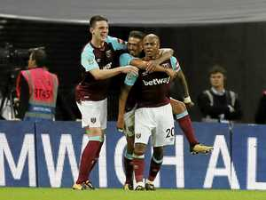 Hammers strike as Spurs blow two-goal lead in Cup