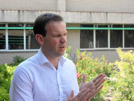 VOTE NO: Senator Matt Canavan is opposed to marriage equality.