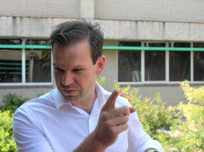 DUAL CITIZEN: Senator Matt Canavan's fate will be decided by the Australian High Court tomorrow.