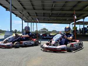Race the police at go-karting track