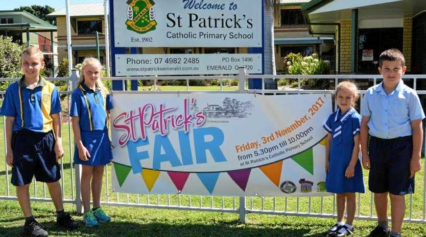 ROLL UP: The St Patrick's Fair will entertain the family on Friday, November 3, from 5.30-10.30pm.