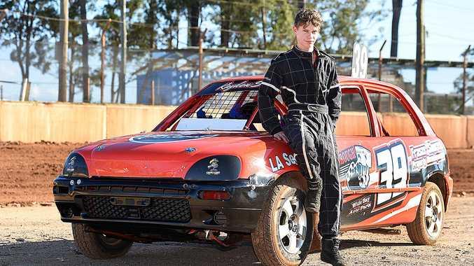 Kayden Eyeing Top Spot In Junior Sedans Race Fraser Coast Chronicle