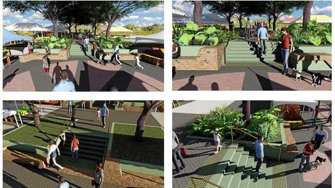 IMPROVEMENTS: Artist impressions of the Eumundi Markets Terraces improvements.