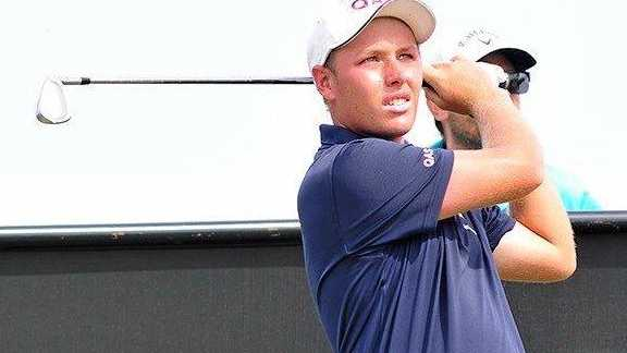 IN ACTION: Shae Wools-Cobb at the Australian Master of the Amateurs at Royal Melbourne.