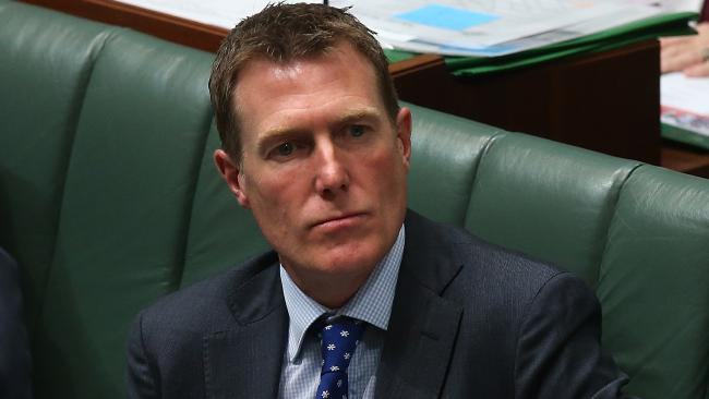 Christian Porter will introduce the legislation to federal parliament today. Picture: Kym Smith