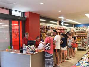SILLY SEASON: Incredible queue as shoppers go mad for new store