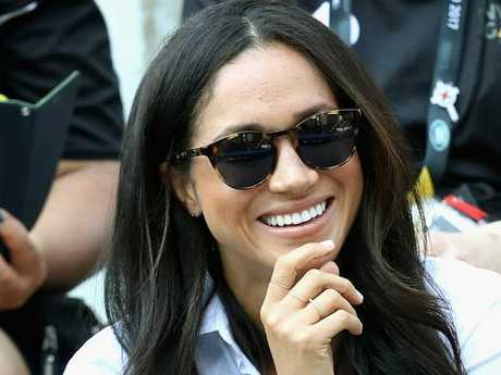 Meghan Markle also sticks to nude nails. Picture: Chris Jackson/Getty Images