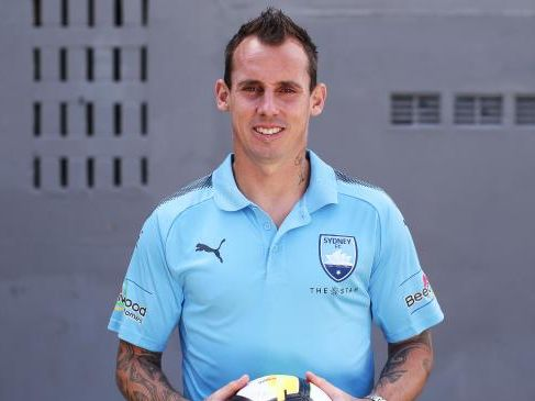Sydney FC defender Luke Wilkshire has had a weird and wonderful career. Picture: Phil Hillyard