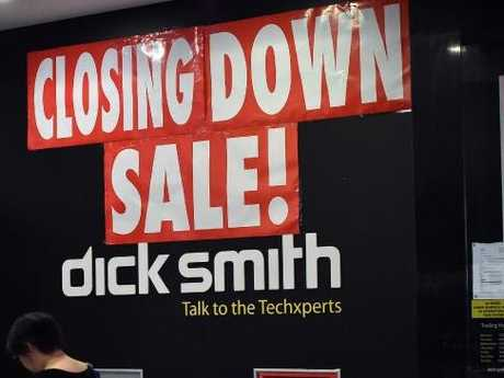 Big name retailers have perished in Australia in recent years. Picture: AFP / Saeed Khan