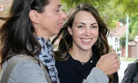 Julianne Borgelt (above in June) failed to show up for her AVO hearing against her estranged husband on Thursday.