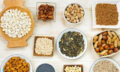 Yes, they are high in kilojoules, but whole nuts will fill you up, and they're a good option if you are looking for a snack between meals.