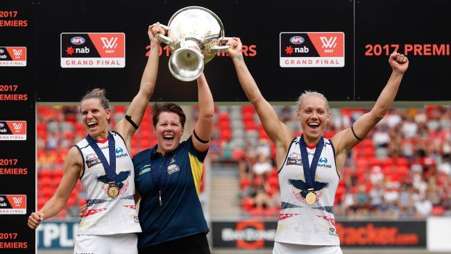 The AFL will keep the same fixture format, including just a Grand Final for AFLW in 2018. Picture: Getty