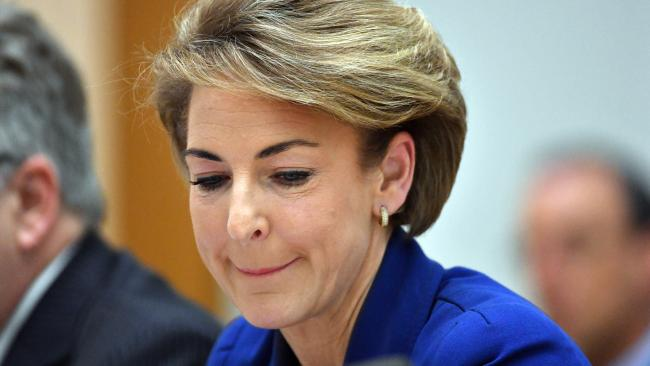 "Michaelia Cash is facing calls to resign while Malcolm Turnbull has been accused of being ""up to his neck"" in the scandal surrounding raids on the Australian Workers' Union offices in Sydney and Melbourne. Picture: AAP"