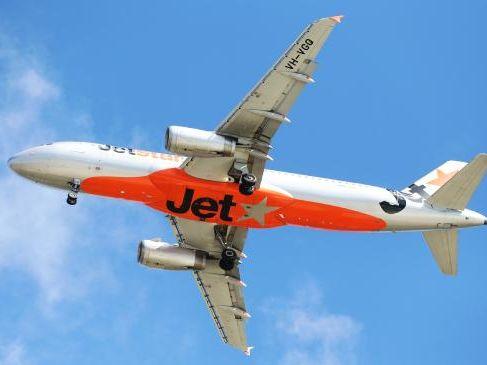 Jetstar is running a return for free sale. Picture: Nigel Hallett