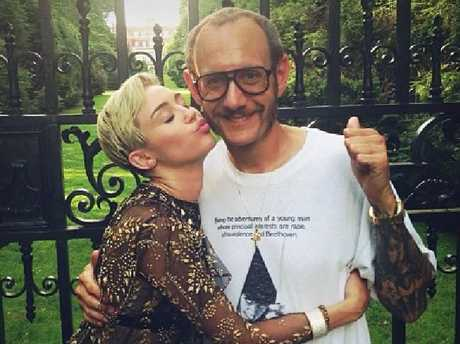 Terry Richardson has photographed a number of high profile celebrities, such as Miley Cyrus. Picture: LauraBrown/Instagram