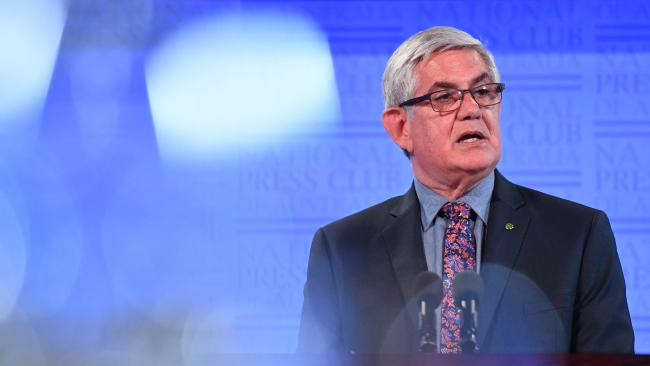 NSW Aged Care Minister Ken Wyatt told the Press Club 40 per cent of aged care residents receive no visitors.